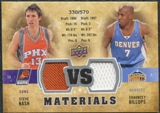 2009/10 Upper Deck VS Dual Materials #VSNB Chauncey Billups Steve Nash /570