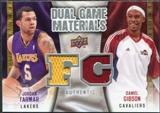 2009/10 Upper Deck Game Materials Dual #DGFG Daniel Gibson Jordan Farmar