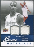 2009/10 Upper Deck Game Materials #GJAJ Antawn Jamison /550