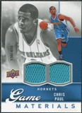 2009/10 Upper Deck Game Materials #GJCP Chris Paul /400