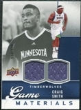 2009/10 Upper Deck Game Materials #GJCS Craig Smith /550