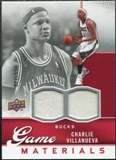 2009/10 Upper Deck Game Materials #GJCV Charlie Villanueva /550