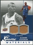 2009/10 Upper Deck Game Materials #GJDS DeShawn Stevenson /550