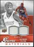 2009/10 Upper Deck Game Materials #GJFE Raymond Felton /550