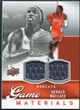 2009/10 Upper Deck Game Materials #GJGW Gerald Wallace /400