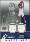 2009/10 Upper Deck Game Materials #GJJC Jarron Collins /550