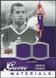 2009/10 Upper Deck Game Materials #GJJF Jordan Farmar /400