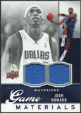 2009/10 Upper Deck Game Materials #GJJH Josh Howard /550