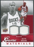 2009/10 Upper Deck Game Materials #GJKB Keith Bogans /400
