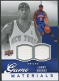 2009/10 Upper Deck Game Materials #GJLH Larry Hughes /508
