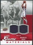 2009/10 Upper Deck Game Materials #GJMA Maurice Ager /550