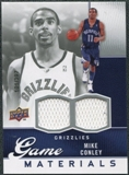 2009/10 Upper Deck Game Materials #GJMC Mike Conley /397