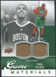 2009/10 Upper Deck Game Materials #GJPP Paul Pierce /508