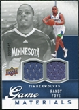 2009/10 Upper Deck Game Materials #GJRF Randy Foye /545