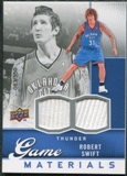 2009/10 Upper Deck Game Materials #GJRS Robert Swift /550