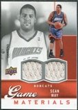 2009/10 Upper Deck Game Materials #GJSM Sean May /550