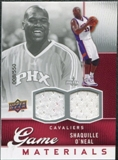2009/10 Upper Deck Game Materials #GJSO Shaquille O'Neal /550