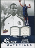 2009/10 Upper Deck Game Materials #GJSW Shawne Williams /550