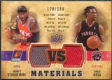 2009/10 Upper Deck VS Dual Materials Bronze #VSAC Amare Stoudemire Chris Bosh /150