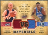 2009/10 Upper Deck VS Dual Materials Bronze #VSIH Dwight Howard Zydrunas Ilgauskas /150