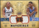 2009/10 Upper Deck VS Dual Materials Bronze #VSMF Desmond Mason Randy Foye /150