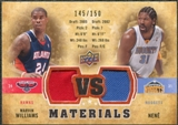 2009/10 Upper Deck VS Dual Materials Bronze #VSWN Marvin Williams Nene /150