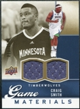 2009/10 Upper Deck Game Materials Gold #GJCS Craig Smith /150