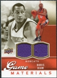 2009/10 Upper Deck Game Materials Gold #GJDI Boris Diaw /150