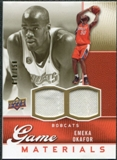 2009/10 Upper Deck Game Materials Gold #GJEO Emeka Okafor /150