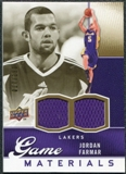 2009/10 Upper Deck Game Materials Gold #GJJF Jordan Farmar /150
