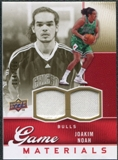 2009/10 Upper Deck Game Materials Gold #GJJN Joakim Noah /150
