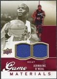 2009/10 Upper Deck Game Materials Gold #GJJO Jermaine O'Neal /150
