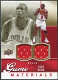 2009/10 Upper Deck Game Materials Gold #GJLD Luol Deng /150