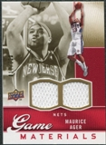 2009/10 Upper Deck Game Materials Gold #GJMA Maurice Ager /150