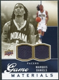 2009/10 Upper Deck Game Materials Gold #GJMD Marquis Daniels /150