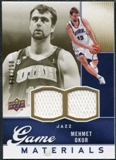2009/10 Upper Deck Game Materials Gold #GJMO Mehmet Okur /150