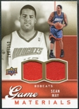 2009/10 Upper Deck Game Materials Gold #GJSM Sean May /150