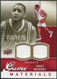 2009/10 Upper Deck Game Materials Gold #GJTM Tracy McGrady /150
