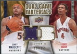 2009/10 Upper Deck Game Materials Dual Gold #DGMB Chris Bosh Corey Maggette /150