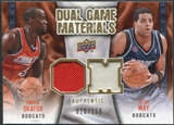 2009/10 Upper Deck Game Materials Dual Gold #DGOM Emeka Okafor Sean May /150