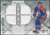 2009/10 Upper Deck Black Diamond Jerseys Quad #QJGA Glenn Anderson