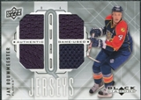 2009/10 Upper Deck Black Diamond Jerseys Quad #QJJB Jay Bouwmeester