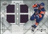 2009/10 Upper Deck Black Diamond Jerseys Quad #QJJT Jeff Tambellini