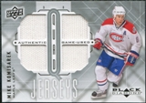 2009/10 Upper Deck Black Diamond Jerseys Quad #QJMK Mike Komisarek