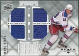 2009/10 Upper Deck Black Diamond Jerseys Quad #QJMS Marc Staal