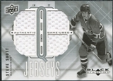 2009/10 Upper Deck Black Diamond Jerseys Quad #QJSS Steve Shutt
