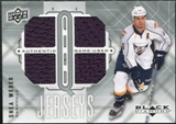 2009/10 Upper Deck Black Diamond Jerseys Quad #QJSW Shea Weber