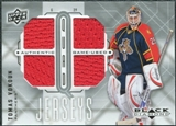 2009/10 Upper Deck Black Diamond Jerseys Quad #QJVO Tomas Vokoun