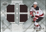 2009/10 Upper Deck Black Diamond Jerseys Quad #QJZP Zach Parise