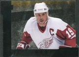 2009/10 Upper Deck Black Diamond Horizontal Perimeter Die-Cut #BD22 Steve Yzerman SP